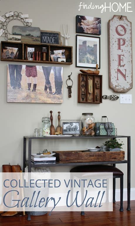 kitchen decorating ideas wall decorating ideas collected vintage gallery wall finding