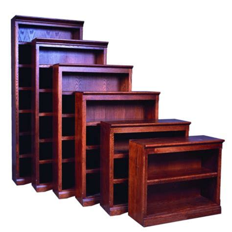 Bookcase Mission Style by Mission Style Five Shelf Bookcase 60h Officefurniture