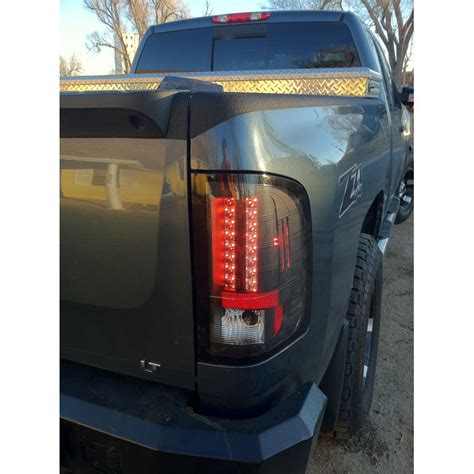 2009 2010 Chevy Silverado Euro Style Led Tail Lights