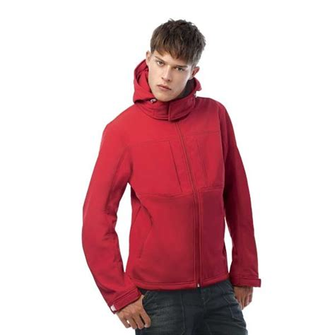 H164 B&c Hooded Softshell   Sussex Promotions ...