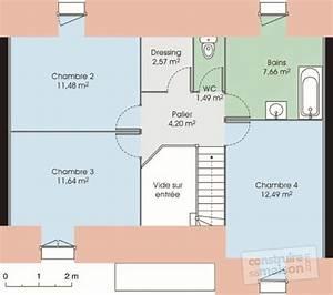 pavillon classique 1 detail du plan de pavillon With faire un plan de maison 1 pavillon classique detail du plan de pavillon classique