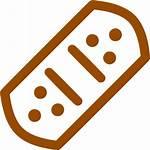 Bandage Brown Icons Icon