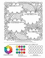 Coloring Notebook Doodles Books Volinski Jess Colorful Drawings Empowering Activity Drawing Visit Colouring Thick Activities sketch template
