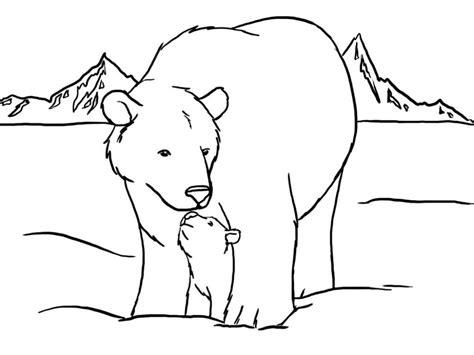 Alaska Coloring Page - Eskayalitim