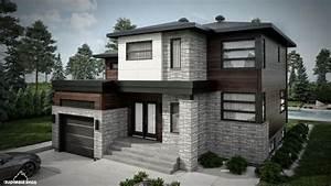 Façade Maison Moderne : facade de maison moderne ~ Melissatoandfro.com Idées de Décoration