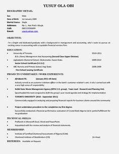 pin  topresumes  latest resume pinterest sample
