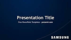 Samsung powerpoint template preview prezentr for Samsung presentation template
