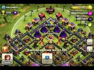 Barbarian King And Archer Queen Attacks. :: VideoLike