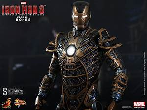 Hot Toys Unleashes Iron Man  U0026 39 Bones U0026 39  Figure