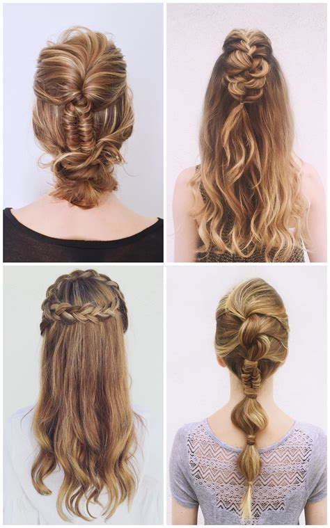 20 Cute Prom Braid Hairstyles to Try for Medium and Long Hair