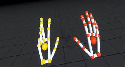Motion Orion Tracking Leap Vr Hands Animated