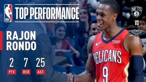 Rajon Rondo Dishes a CAREER-HIGH 25 Assists vs. Nets ...