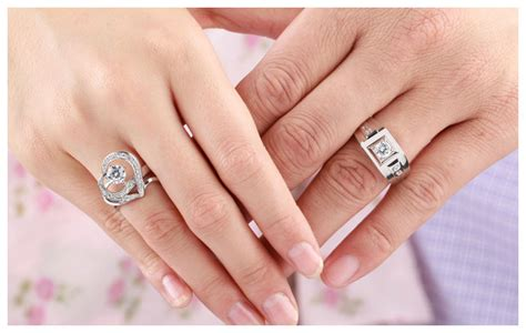 cubic zirconia diamond engagement rings set  men
