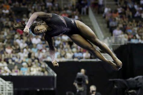 Simone Biles Gymnastics Beam