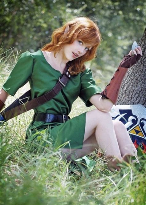 cosplay lady link   feel  tingle   triforce