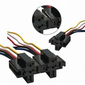 5x 5pin Automotive Car Relay Switch Harness Waterproof 30a