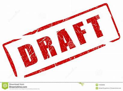 Draft Stamp Royalty Illustration Clipart Dreamstime Isolated