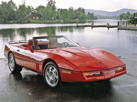 1986 corvette convertible supercar supercars muscle