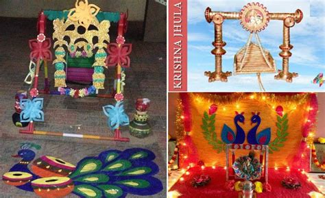janmashtami krishna jhula decoration ideas craft community