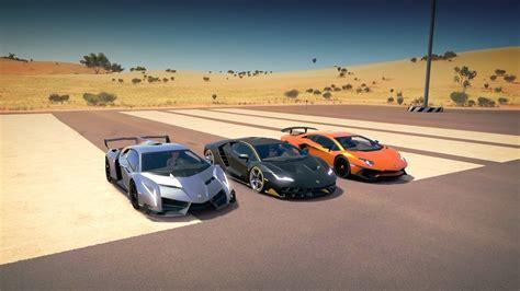 Vs Lamborghini Race by Lamborghini Centenario Vs Veneno Vs Aventador Sv Lp750 4