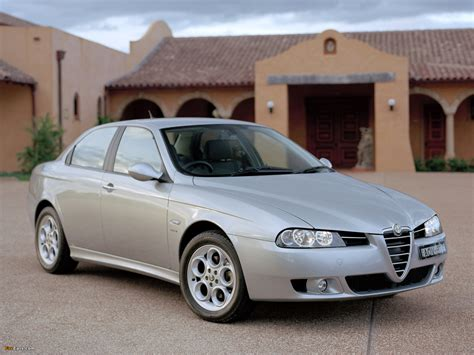 Alfa Romeo 156 2.5 V6 Au-spec 932a (2003–2005) Wallpapers