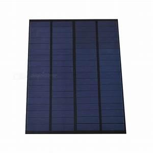 Panneau Solaire Gratuit : sunwalk 5 5w 18v 300ma panneau solaire en silicium ~ Melissatoandfro.com Idées de Décoration