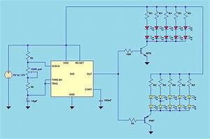 41 Led Flasher Circuit Using 555 Ic Under Repository