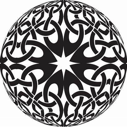 Celtic Knot Mandala Coloring Domain Adult Ornament