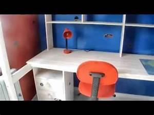 deco chambre garcon bleu blanc rouge gris youtube With deco maison gris et blanc