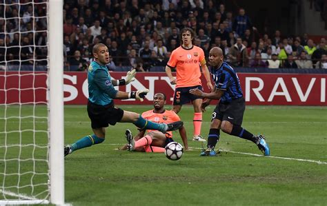 Maicon Photos Photos  Inter Milan V Barcelona Uefa