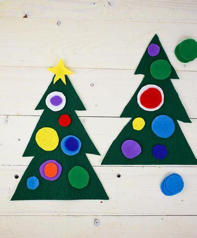 38 really easy crafts for 931   Felt Christmas Tree Preschool Craft Large400 ID 1321634
