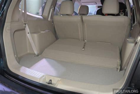 maserati malaysia nissan grand livina facelift boot space indian autos blog