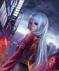 deviantART Anime Girl Digital Art