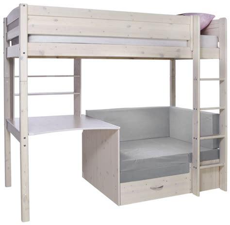 lit sureleve avec bureau lit surélevé avec fauteuil lit bureau trendy dreamland