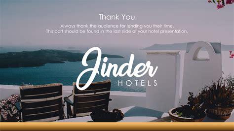 hotel company premium powerpoint template slidestore