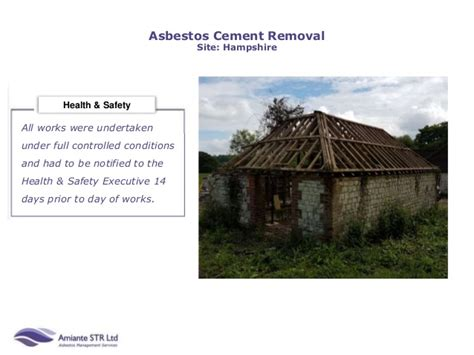 amiante july abestos cement removal hampshire
