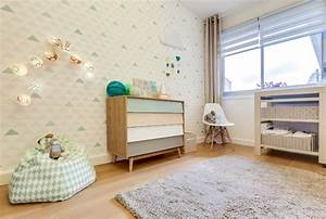 Chambre Bebe Design Scandinave : deco scandinave chambre bebe ~ Teatrodelosmanantiales.com Idées de Décoration