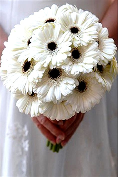 black  white wedding bouquets ideas images