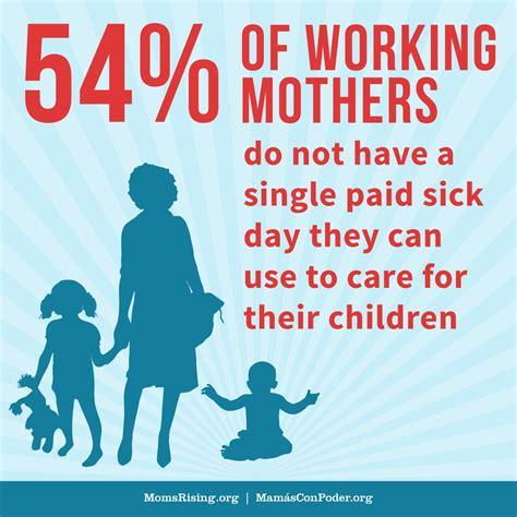 momsrisingorg  congress advance paid sick days