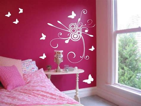what goes with pink walls beautiful wall designs for bedroom design ideas decor