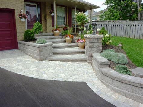 bricks for front yard front entrance landscaping front yard landscaping interlocking brick front yard landscaping