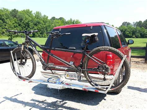 1up usa bike rack 1up usa tandem rack mtbr