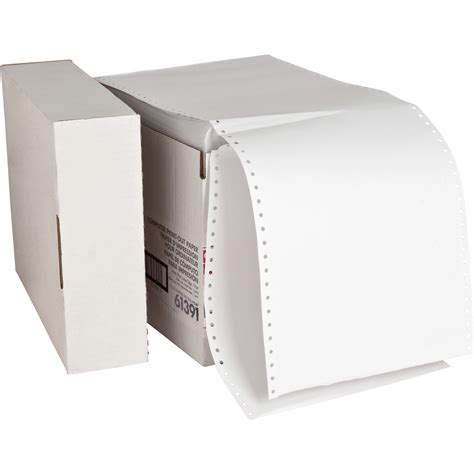 continuous form paper sparco continuous paper madill the office company