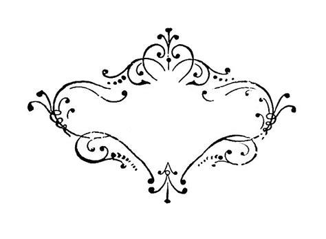 scroll border designs images  vintage scroll