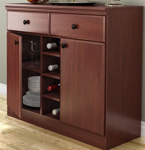 Cherry Wood Buffet Sideboard by Dining Room Buffet Sideboard Console Table In Cherry Wood