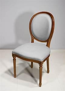 Chaise Louis Xvi : chaise emeline en merisier massif de style louis xvi meuble en merisier massif ~ Teatrodelosmanantiales.com Idées de Décoration