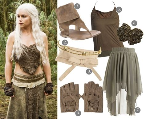 Love Khaleesi's Tribal Costumes! Sample Outfit For