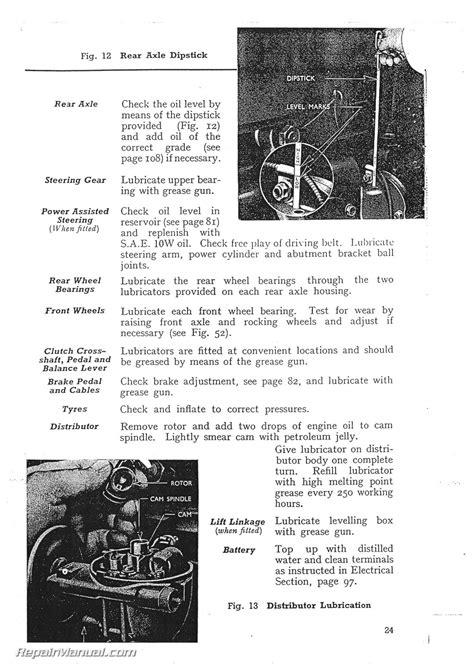 Fordson Major Tractor Operators Manual Instruction Book | eBay