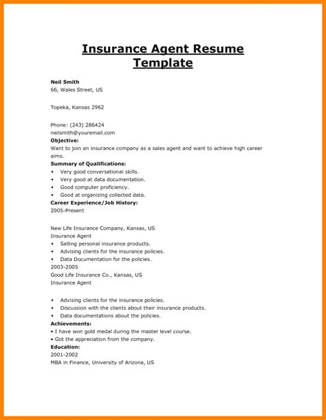 Typical work activities highlighted on an insurance broker resume sample include assessing client insurance needs, attracting new clients, amending existing policies, developing. 5+ insurance agent job description | Introduction Letter