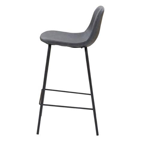 chaise de bar noir lot de 2 chaises de bar noir vieilli kosyform